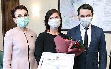 Татьяна Кусайко обсудила сгубернатором Мурманской области проведение врегионе выездного заседания Экспертного совета поздравоохранению при Комитете СФ посоциальной политике