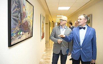 Открытие выставки работ художников изВладимирской области