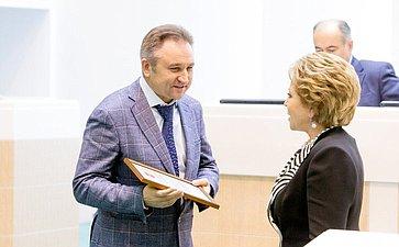 359-е заседание-22 Атанов и В. Матвиенко
