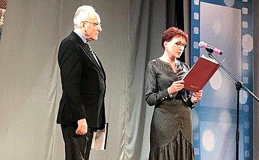 Татьяна Кусайко выступила сприветственным словом намеждународном кинофестивале «Северный Характер»