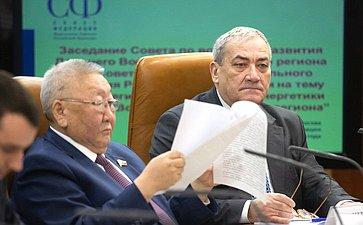 Заседание Совета повопросам развития Дальнего Востока иБайкальского региона при Совете Федерации натему «Остратегии развития электроэнергетики Дальнего Востока иБайкальского региона»