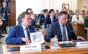 Сергей Рябухин иВячеслав Тимченко
