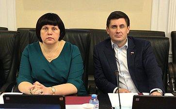 Елена Афанасьева иВадим Деньгин