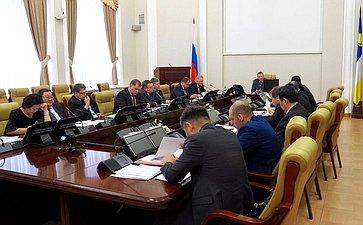 В. Наговицын обсудил счленами правительства региона ход исполнения Постановления СФ «Огосударственной поддержке социально-экономического развития Бурятии»