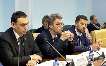 Совещание Комитета СФ поаграрно-продовольственной политике иприродопользованию натему «Орешении проблем берегоукрепления морских водных объектов»