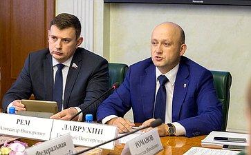 Расширенное заседание Комитета Совета Федерации поэкономической политике сучастием представителей Тульской области