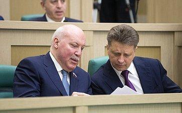 Д. Мезенцев иМинистр транспорта М. Соколов