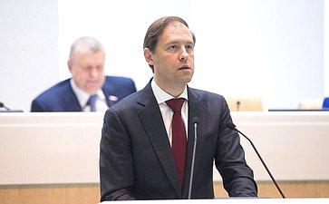 Глава Минпромторга РФ Д. Мантуров