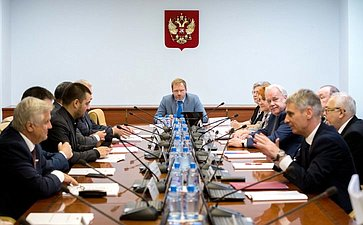Заседание Комитета Совета Федерации поРегламенту иорганизации парламентской деятельности