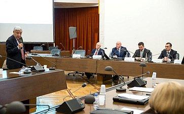 Семинар для руководителей законодательных (представительных) органов государственной власти субъектов РФ– членов Совета законодателей РФ вРАН