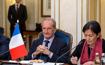 Заседание групп посотрудничеству Совета Федерации иСената Французской Республики