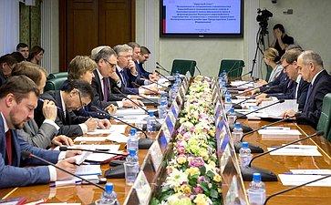 «Круглый стол» натему «Возможности сопряжения Евразийского экономического союза иЭкономического пояса Шёлкового пути иформирование Большого Евразийского партнёрства»