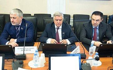 Сулейман Геремеев, Юрий Волков иМурат Хапсироков
