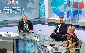 К. Косачев провел встречу сучастниками программы «Внутри Кремля»