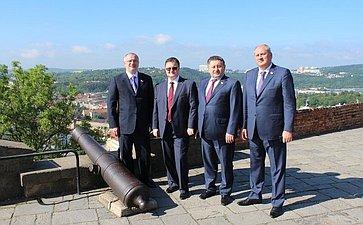 Визит делегации членов Совета Федерации вЧешскую Республику воглаве сА. Клишасом
