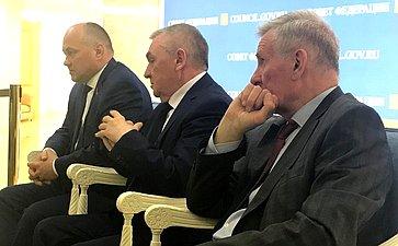 А. Кондратенко иВ. Бекетов провели встречу состудентами изрегиона, обучающимися вмосковских вузах