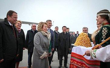 Рабочая поездка В.Матвиенко вРеспублику Башкортостан