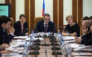Александр Башкин провел «круглый стол» натему «Совершенствование механизмов государственно-частного партнерства»