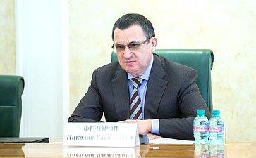 Н. Федоров провел заседание Совета помежнациональным отношениям ивзаимодействию срелигиозными объединениями при Совете Федерации