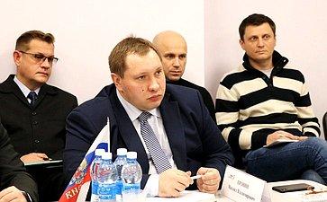 Встреча Игоря Морозова спредпринимателями Рязанской области