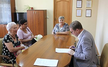 Алексей Майоров провел прием граждан