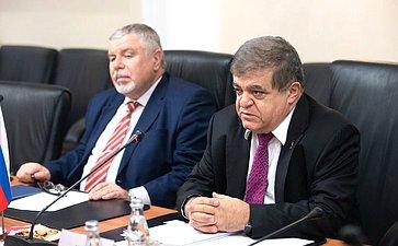 Встреча Владимира Джабарова сполномочным министром Посольства КНР вРФ Су Фанцю