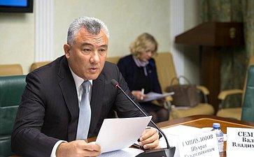Заседание Координационного совета пофинансовому контролю отраслей инфраструктурного комплекса при Комитете СФ