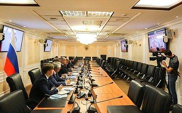 Встреча Ильяса Умаханова спервым заместителем Председателя Постоянного комитета Всекитайского собрания народных представителей КНР врежиме видеоконференции