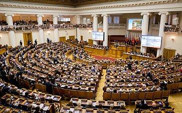 Торжественное пленарное заседание Межпарламентской Ассамблеи государств-участников Содружества Независимых Государств, посвященное 70-летию Победы