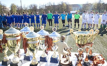 Футбольный турнир «Кубок городов-героев», посвященный 72-й годовщине Победы вВеликой Отечественной войне