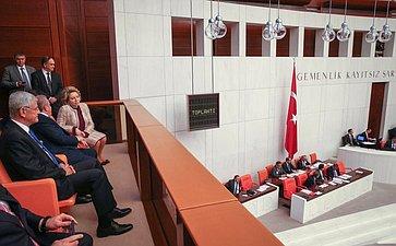 Официальный визит делегации Совета Федерации вТурцию