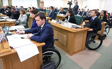 Заседание Совета поделам инвалидов при Председателе СФ