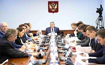 Заседание Комитета СФ посоциальной политике, 2018