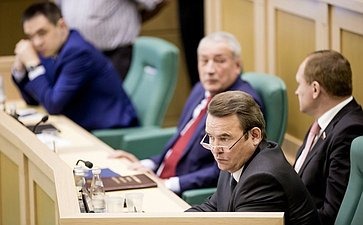 Рафаил Зинуров на 358 заседании Совета Федерации