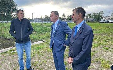 Виктор Новожилов врамках работы врегионе посетил поселок Кулой Вельского района
