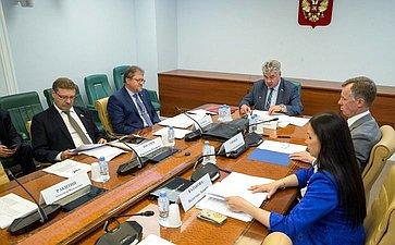 Совещание, посвященное совершенствованию миграционного законодательства РФ инормативно-правовых актов вчасти упрощения получения вида нажительство