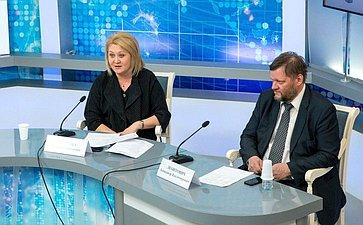 Встреча Л. Гумеровой сучастниками XXVI Всероссийских юношеских чтений имени В.И.Вернадского