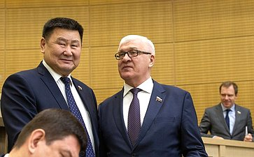 Вячеслав Мархаев иСергей Брилка