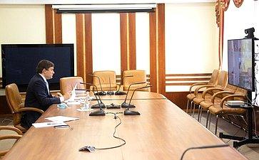 Николай Журавлев врежиме видеоконференции принял участие взаседании правительственной комиссии поповышению устойчивости развития российской экономики