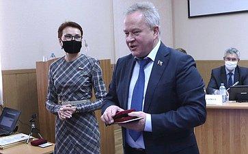 Татьяна Кусайко приняла участие вработе областной Думы