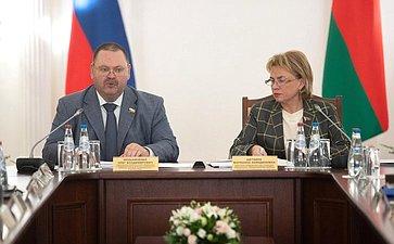 Пятое заседание Межпарламентской комиссии Совета Республики Национального собрания Республики Беларусь иСовета Федерации помежрегиональному сотрудничеству