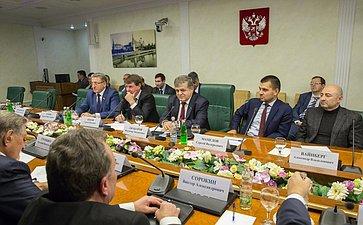 Заседание Комиссии по мониторингу ситуации на Украине при Комитете Совета Федерации