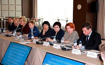 И.Умаханов изаместитель Председателя Сената Парламента Казахстана С.Громов провели одиннадцатое заседание Комиссии посотрудничеству между Советом Федерации иСенатом Парламента Республики Казахстан