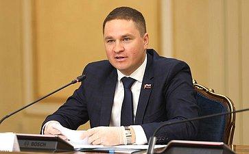 Встреча Председателя Совета Федерации Валентины Матвиенко смолодыми парламентариями