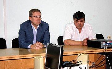 Рабочий визит А. Майорова вРеспублику Калмыкия