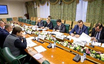 Заседание рабочей группы помониторингу принятия нормативных правовых актов