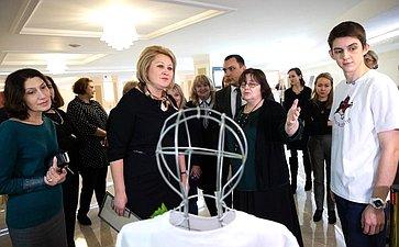 Открытие вСовете Федерации выставки социально-правового плаката «ВЕКТОР ПРАВА»