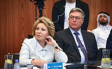 Встречи делегации СФ спредседателями ассамблей Межпарламентского союза ируководства МПС