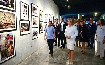 Посещение фотовыставки «Санкт-Петербург– Гавана»
