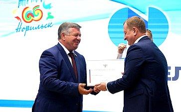 Валерий Семенов принял участие впраздновании 65-летия города Норильска иДня металлурга
